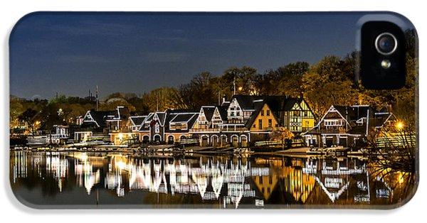 Boathouse Row IPhone 5 Case