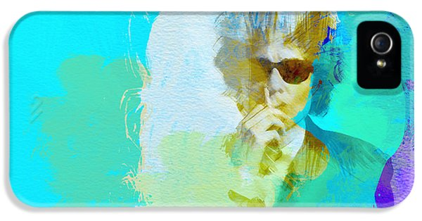 Bob Dylan IPhone 5 Case by Naxart Studio