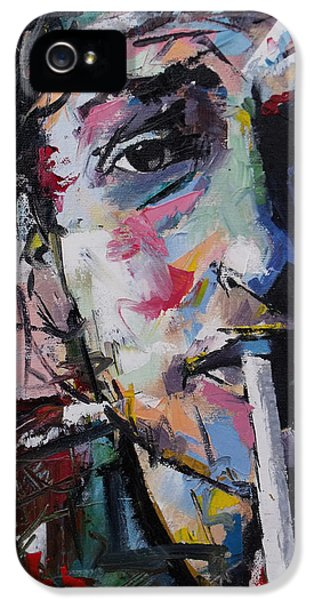 Bob Dylan IPhone 5 / 5s Case by Richard Day