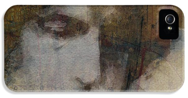 Bob Dylan iPhone 5 Case - Bob Dylan - The Times They Are A Changin' by Paul Lovering