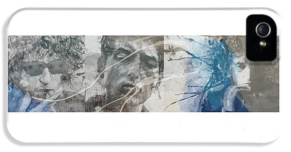 Bob Dylan Triptych IPhone 5 Case