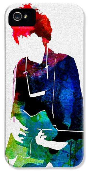 Bob Watercolor IPhone 5 Case by Naxart Studio