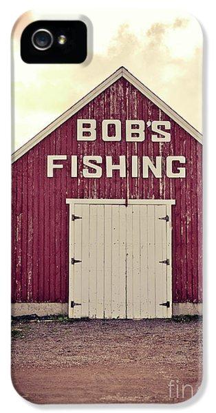 Bob's Fishing North Rustico IPhone 5 Case