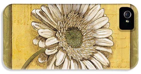 Daisy iPhone 5 Case - Bohemian Daisy 1 by Debbie DeWitt