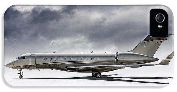 Jet iPhone 5 Case - Bombardier Global 5000 by Douglas Pittman
