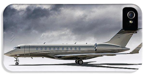 Jet iPhone 5 Case - Bombardier Global 5000 by Douglas Pittman