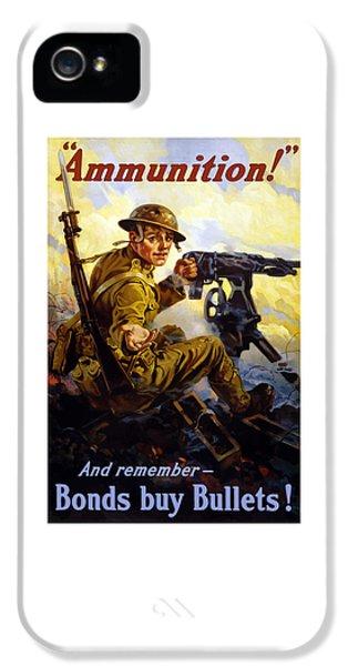 Ammunition  - Bonds Buy Bullets IPhone 5 Case