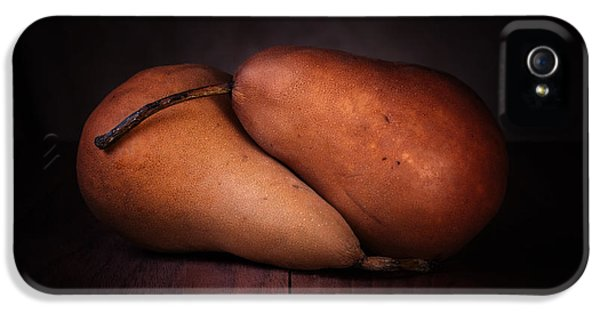 Pear iPhone 5 Case - Bosc Pears by Tom Mc Nemar