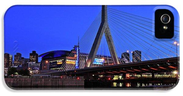 Boston Garden And Zakim Bridge IPhone 5 Case