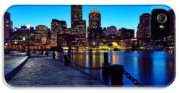 Boston Harbor Walk IPhone 5 Case