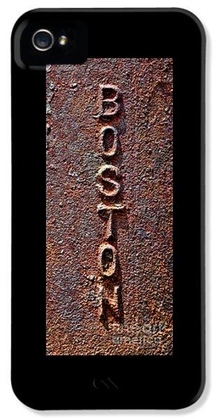 Boston Tough IPhone 5 Case by Olivier Le Queinec