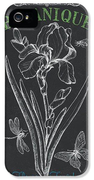 Botanique 1 IPhone 5 Case by Debbie DeWitt