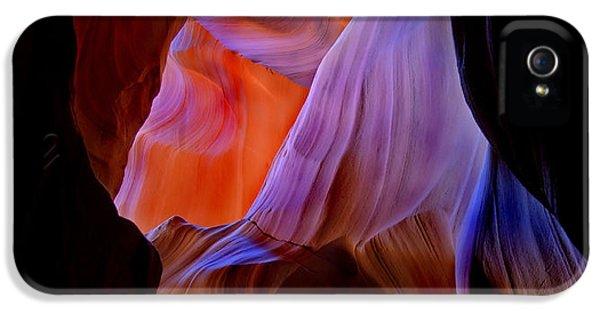 Desert iPhone 5 Case - Bottled Light by Mike  Dawson