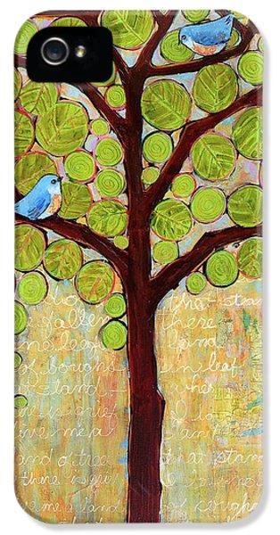 Boughs In Leaf Tree IPhone 5 Case by Blenda Studio