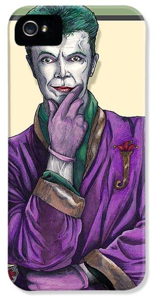 Bowie Joker IPhone 5 Case