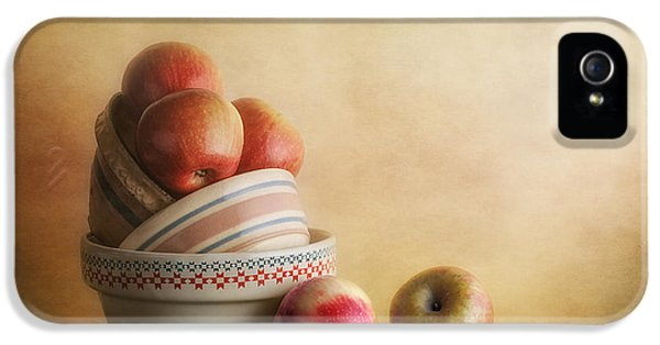 Bowls And Apples Still Life IPhone 5 Case by Tom Mc Nemar