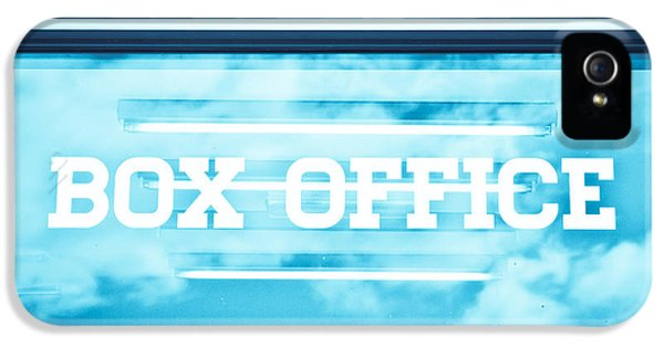 Box Office IPhone 5 Case by Tom Gowanlock