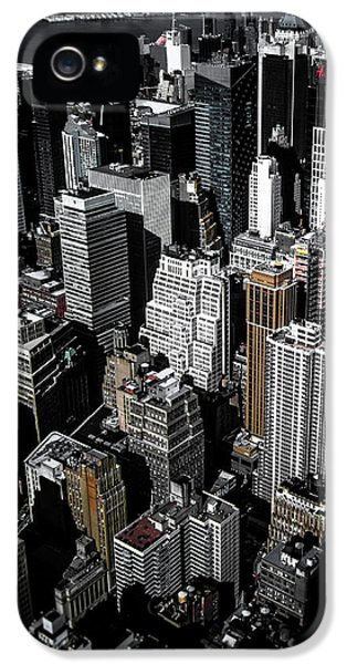 Broadway iPhone 5 Case - Boxes Of Manhattan by Nicklas Gustafsson