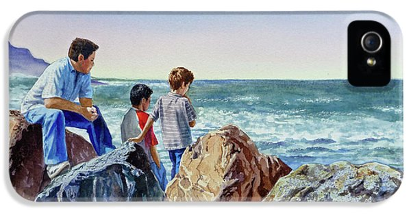 Boys And The Ocean IPhone 5 Case