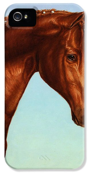 Animals iPhone 5 Cases - Braided iPhone 5 Case by James W Johnson