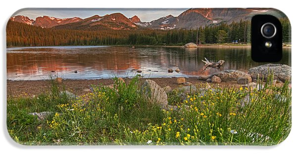 Brainard Lake IPhone 5 Case by Gary Lengyel