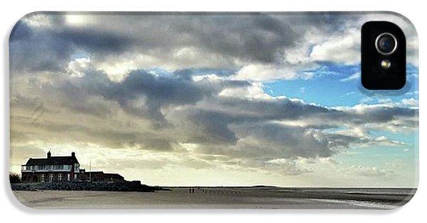 Brancaster Beach This Afternoon 9 Feb IPhone 5 Case by John Edwards