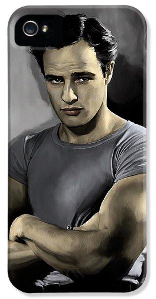 Brando - Color IPhone 5 Case by Paul Tagliamonte