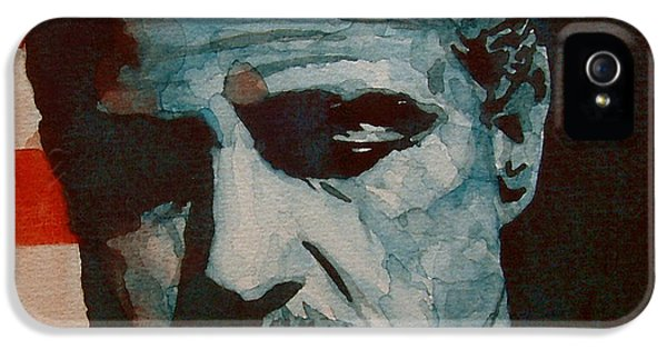 Legends iPhone 5 Case - The Godfather-brando by Paul Lovering