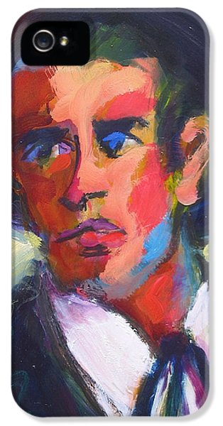 Bret Maverick IPhone 5 Case by Les Leffingwell
