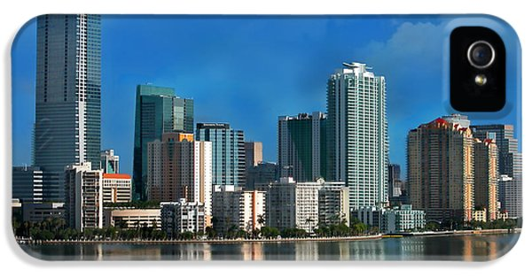 Brickell Skyline 2 IPhone 5 Case by Bibi Romer