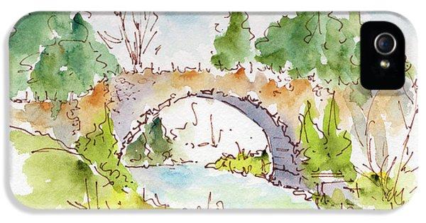 Bridge Over Spencer Creek IPhone 5 Case by Pat Katz