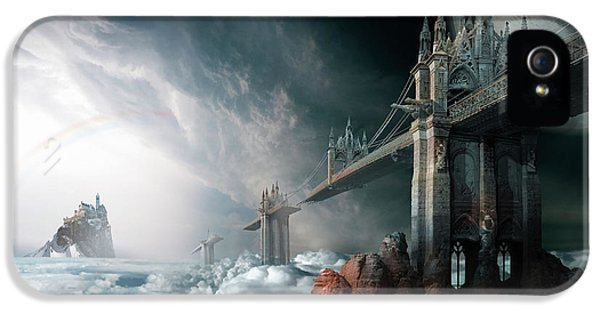 Bridges To The Neverland IPhone 5 Case by George Grie