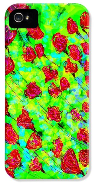Bright IPhone 5 Case by Khushboo N
