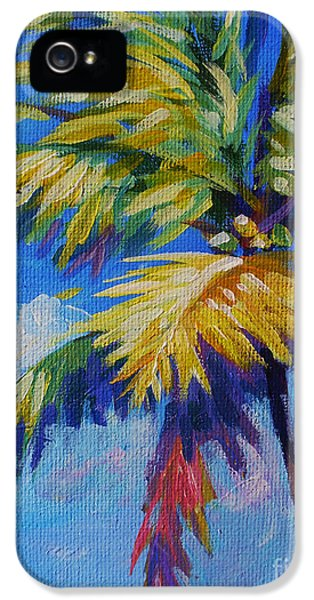 Bright Palm IPhone 5 Case by John Clark