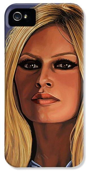 Brigitte Bardot 3 IPhone 5 Case by Paul Meijering