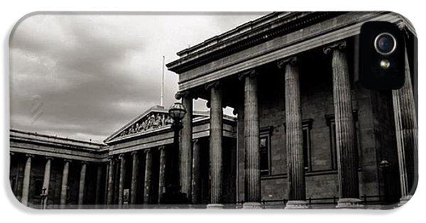 London iPhone 5 Case - #britishmuseum #london #thisislondon by Ozan Goren