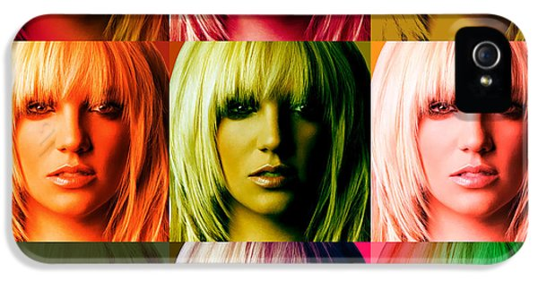 Britney Spears Bold Warhol By Gbs IPhone 5 Case