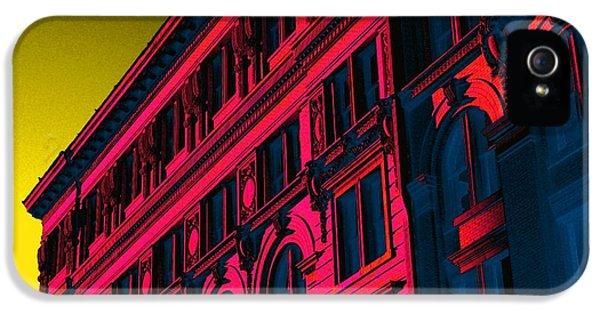 Broadway 118 In Fuschia IPhone 5 / 5s Case by Edgar Farrera