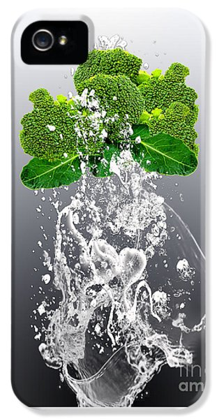 Broccoli Splash IPhone 5 Case by Marvin Blaine