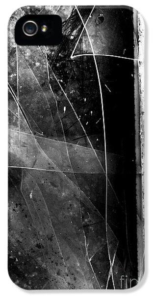 Damage iPhone 5 Case - Broken Glass Window by Jorgo Photography - Wall Art Gallery