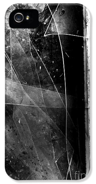 Broken Glass Window IPhone 5 Case by Jorgo Photography - Wall Art Gallery