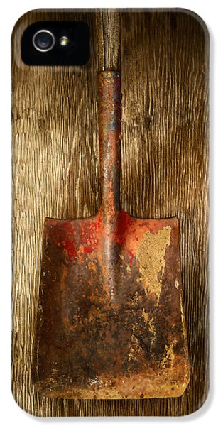 Tools On Wood 2 IPhone 5 Case by YoPedro