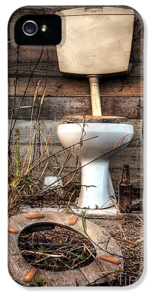 Dirty iPhone 5 Cases - Broken Toilet iPhone 5 Case by Carlos Caetano