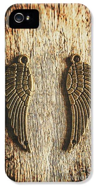 Bronze Angel Wings IPhone 5 Case