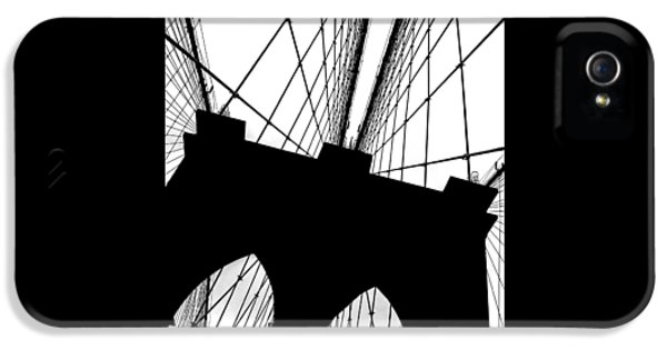 Brooklyn Bridge Architectural View IPhone 5 Case by Az Jackson