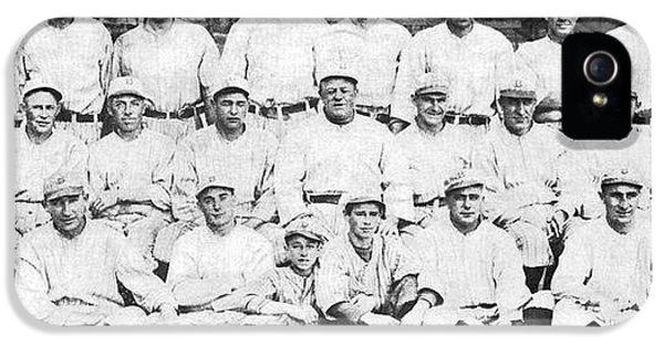 Brooklyn Dodger Champions IPhone 5 Case by Underwood & Underwood
