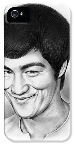 Bruce Lee IPhone 5 Case