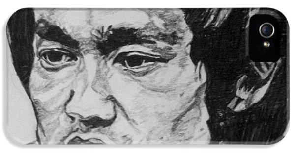 Bruce Lee IPhone 5 Case by Rachel Natalie Rawlins