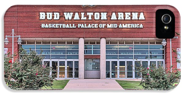 Bud Walton Arena IPhone 5 Case by JC Findley