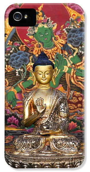 Buddha Blessing IPhone 5 Case by Tim Gainey